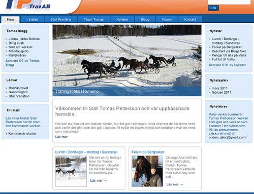 TP-Travs nya hemsida klar
